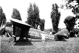 Royal Windsor 1928: When Windsor Got Its Wings
